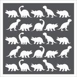 Dino Parade by susan shaw