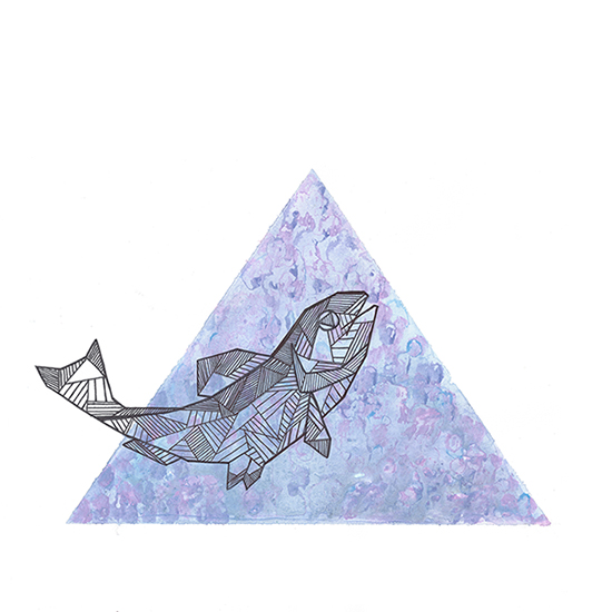 art prints - Geometry of a Fish by Casey Miller