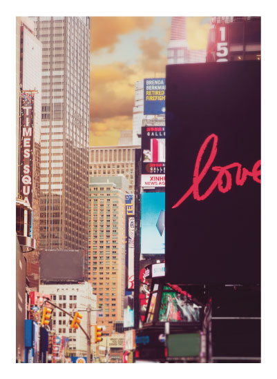 art prints - I Love NY - Times Square by Smile Peace Love