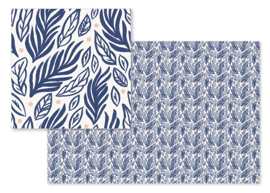 fabric - Sea Forage by Paper Raven Co.