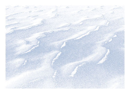art prints - Winter Waves by Karen Kaul