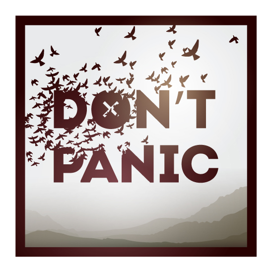 art prints - Don't Panic! by Tunde Erika Dosa