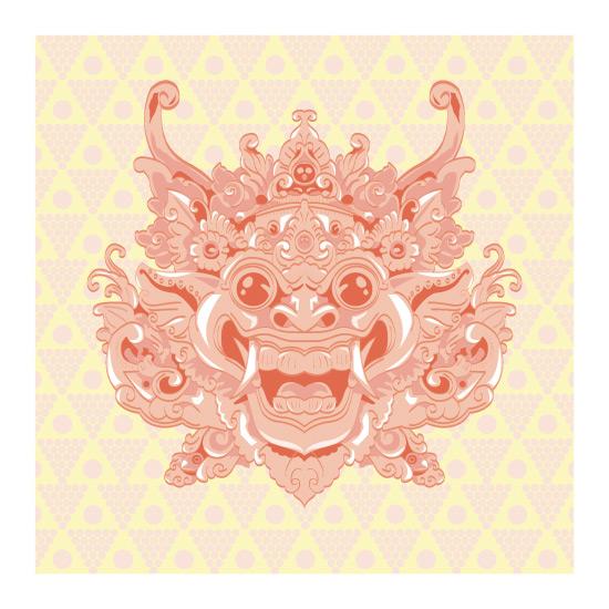 art prints - barong by clara catharina