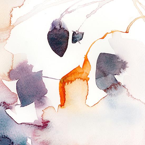 art prints - Abstract Flora Series : Fall 1 by Marta Spendowska