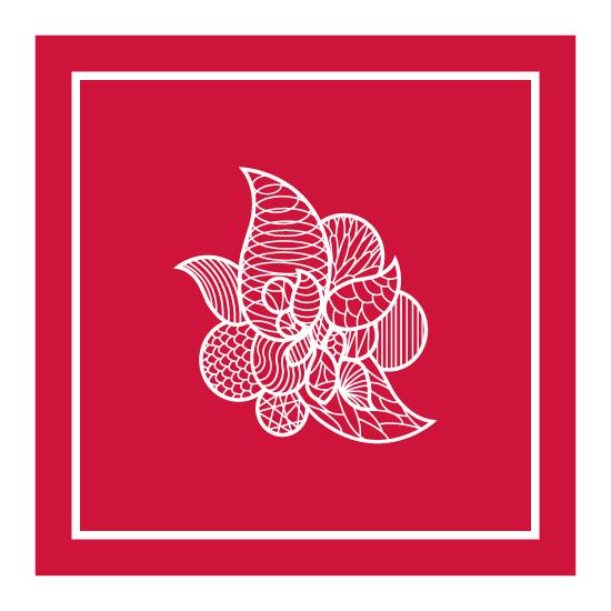 art prints - floral abstract by clara catharina