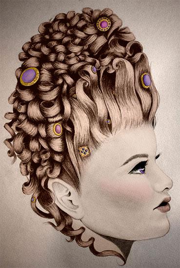 art prints - The Duchess by Rebecca Compton