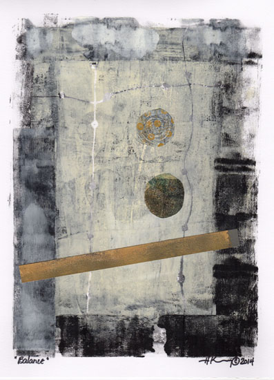 art prints - Balance by Holly Kenny
