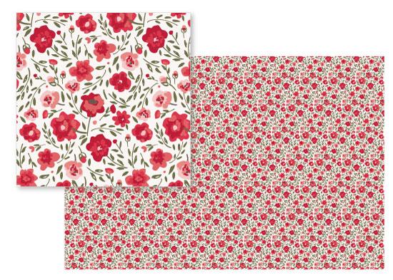 fabric - Alpine Garden by Petra Kern