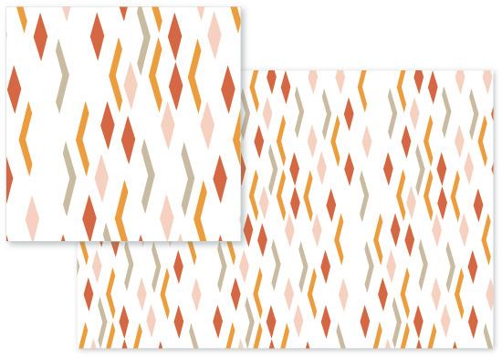 fabric - Geometric Confetti by Avie Designs