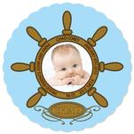 Baby boy in Ship's Whee... by Richard Coble