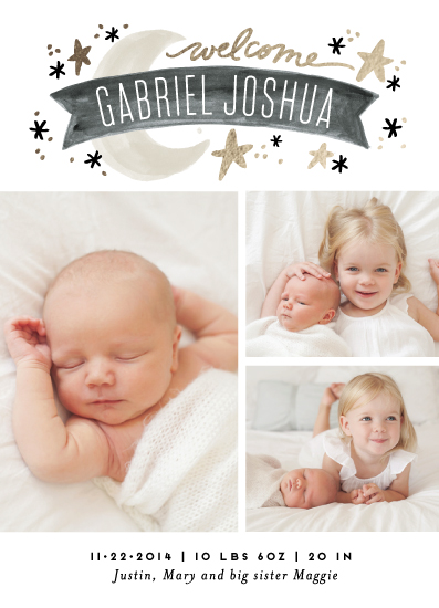 birth announcements - Twinkle Twinkle by Alethea and Ruth