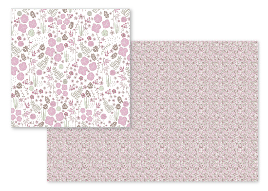 fabric - Forrister Pink by Victoria Brand