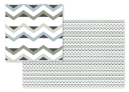 fabric - Casual Chevron by Amber Moak