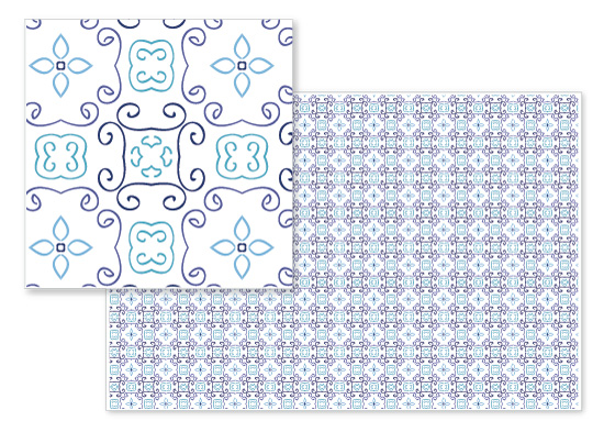 fabric - Awesome ornament by Onysia Kolesnikova