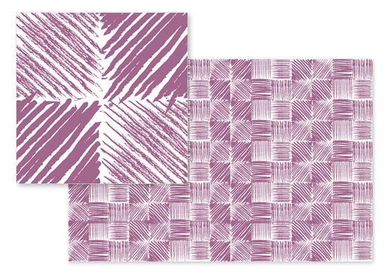 fabric - Artsy Strokes by Olga Mendenhall