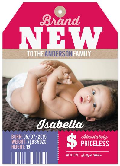 birth announcements - Brand New by Neha Banati
