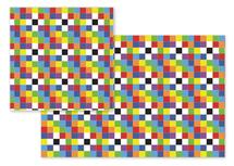 Rainbow Squares by Empire Ruhl