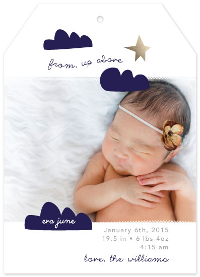 birth announcements - from up above by Little Miss Missy
