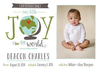 Joy to the World Adoption