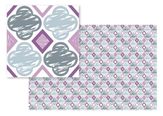 fabric - Plum Crazy by SP Studio