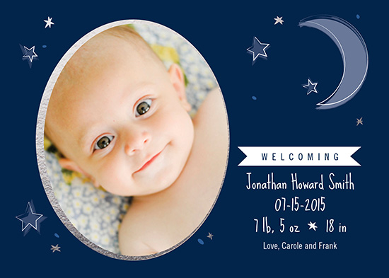 birth announcements - Welcoming Night by notinsidethebox