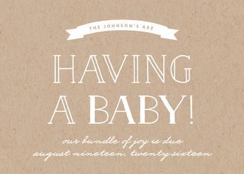 Having a Baby