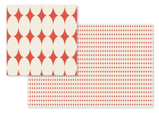 fabric - Optical Ovals by Carlyn Clark