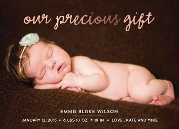 our precious gift