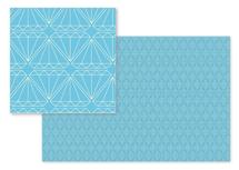 Blue Diamonds by Rebecca Compton