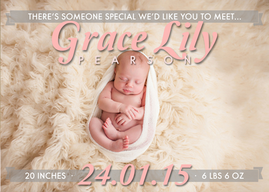 birth announcements - Banner of a Welcome by Chrissy C