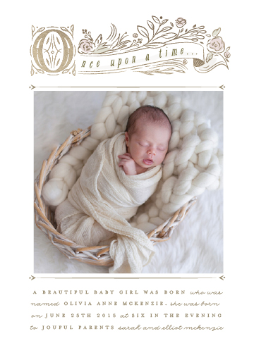birth announcements - Storybook by Lori Wemple