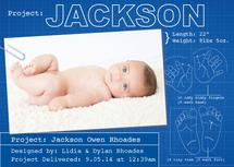 Baby blueprint by Francesca Leipzig Picone