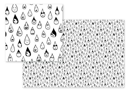 fabric - No Two Alike by Marta Berk