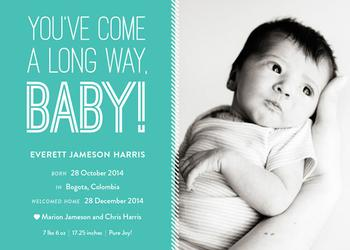 Long Way Baby Adoption
