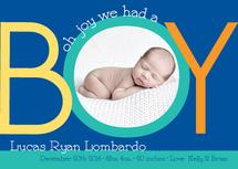oh joy it's a boy! by Francesca Leipzig Picone