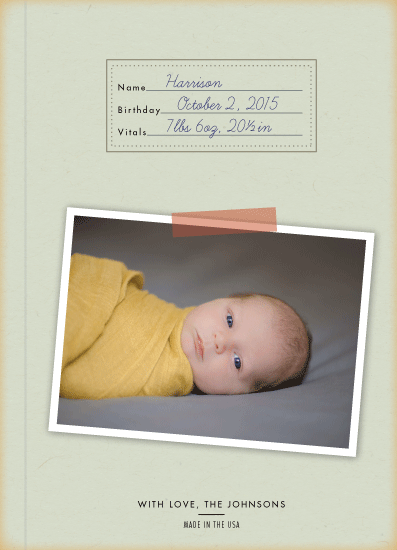 birth announcements - le cahier by Ling Wang