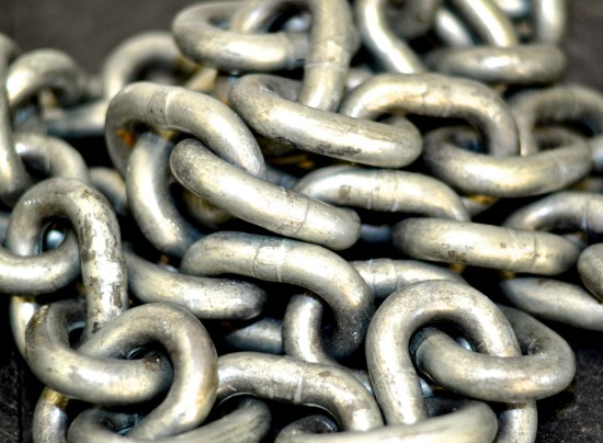 art prints - Chain Gang by Irene Penny at Silver Penny Photography