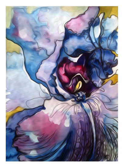 art prints - This is Me Unfolding by Kelly Marie Johnson