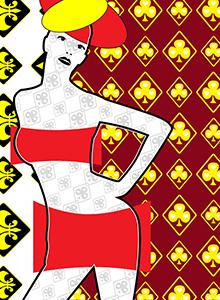 art prints - Female Art Pose 2 by Francis Luna