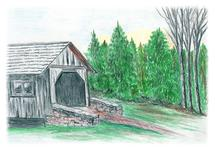 Covered Bridge by Amanda Bush