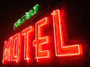 neon motel