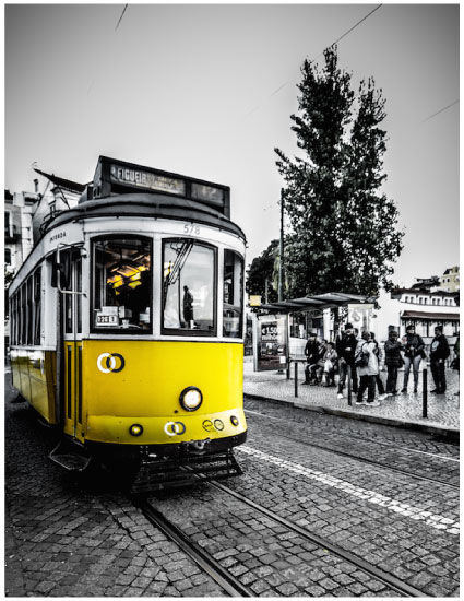 art prints - Tram Twelve Lisboa by Kerrie Wilson