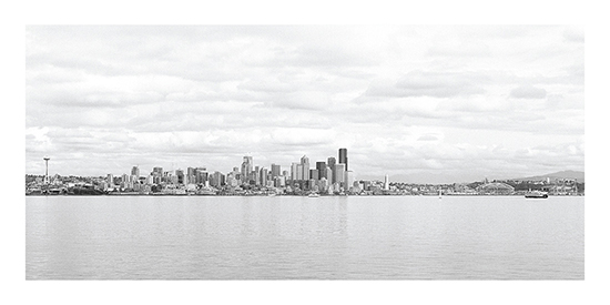 art prints - Seattle in Shades of Gray by Grin and Grain
