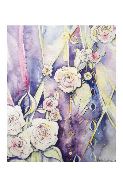art prints - ExNihilo by Kelly Marie Johnson