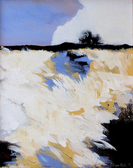 art prints - Snowscape 1 by Megan Kelley