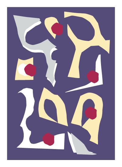 art prints - Cutout Collage 6 by Miranda Mol