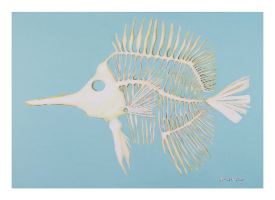 art prints - Internal Beauty Long Nosed Butterflyfish by JJ Galloway Studio