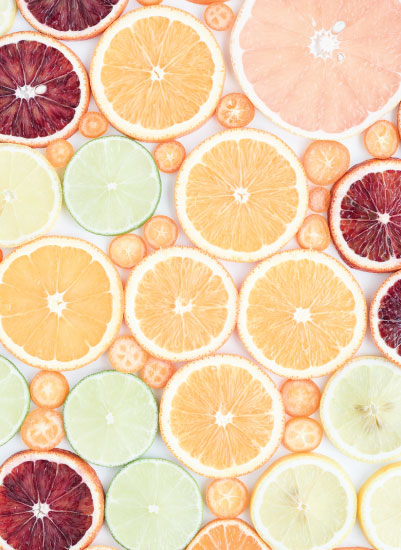 art prints - Wall of Citrus by Amy Roth