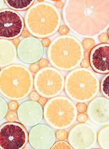 Wall of Citrus by Amy Roth