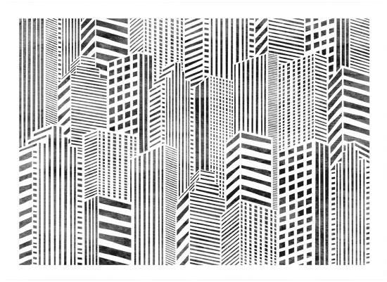 art prints - Linear City by Daniela
